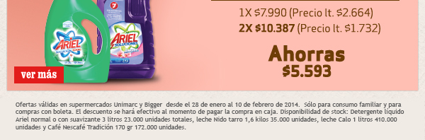 2X $10.387 / AHORRAS $5.593